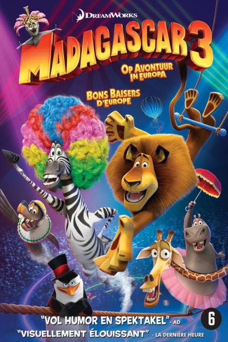 Madagascar 3: Europe's Most Wanted/